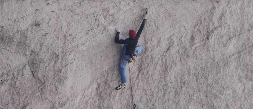 Video: Adam Ondra testing the on-road Just Do it on Smith Rock