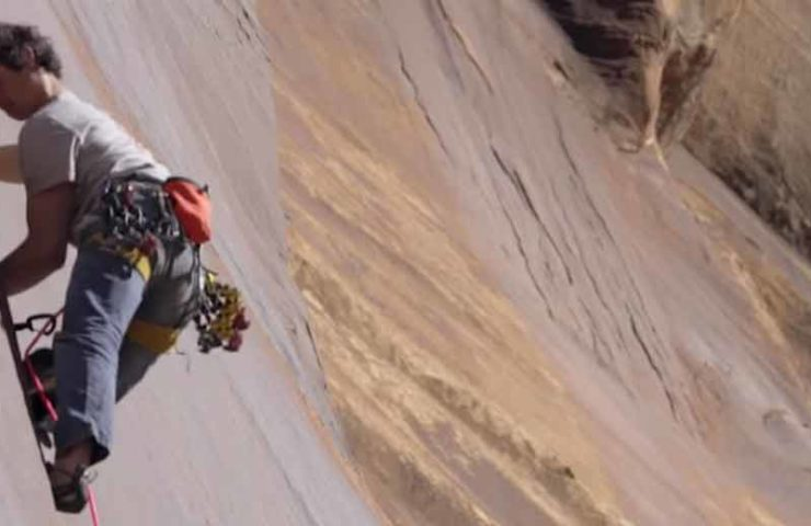 Vlog 12 - Adam Ondra klettert die Rissroute Supercrack in Indian Creek (Utah)