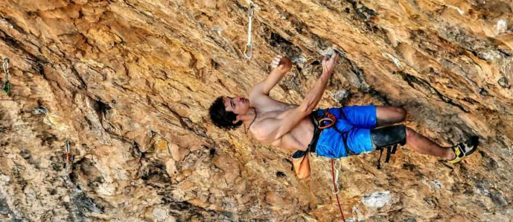 Adam Ondra joins the 9b route Neanderthal in Santa Linya