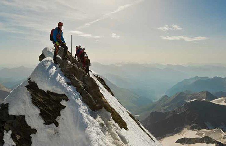 Cada vez más habitantes de la ciudad van a los clubes alpinos.