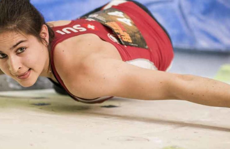 Rebecca Stotz turns her back on competition climbing