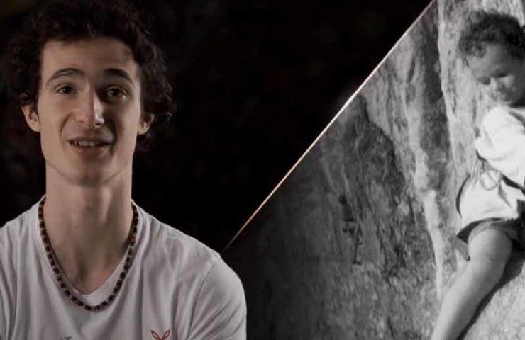 Video: Climbers from birth - Adam Ondra introduces himself