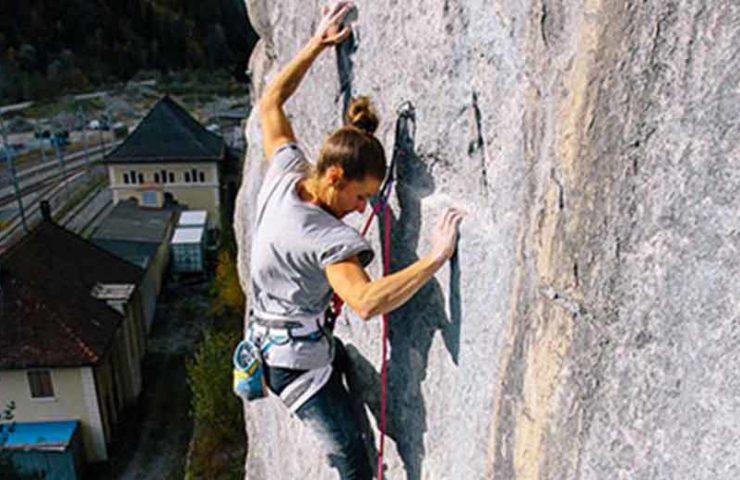 De la nieve a la roca: Nadine Wallner obtiene el principio de Tradroute Hope en Bürs