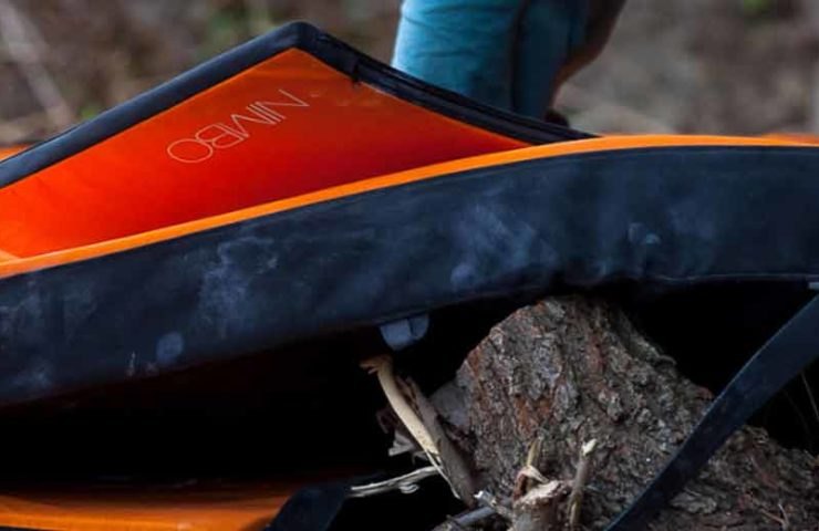 May not be missing while bouldering: The starter pad Nimbo by Petzl