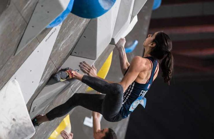 Second World Cup of the season: Moscow is fighting for Olympic points in the disciplines of bouldering and speed