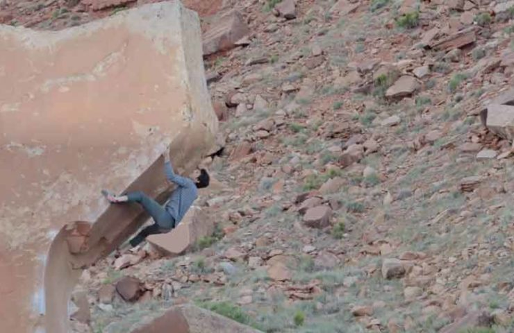 Air Wolf at Indian Creek: Most Beautiful Boulder in the World?