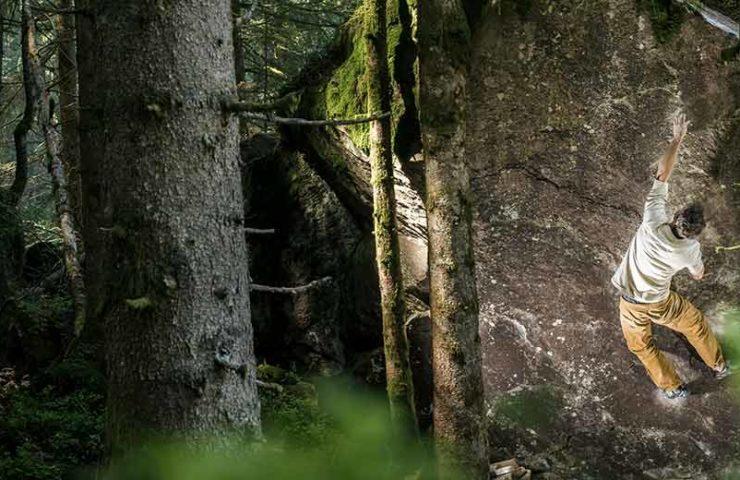 Valle de Murg: un área de boulder en el alza
