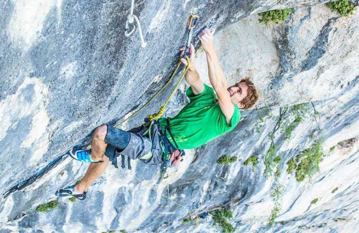 Seb Bouin klettert die schwerste Mehrseillängenroute Frankreichs: Hosanna (8c)