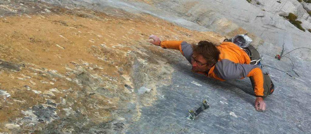 Die womöglich schwerste Route der Schweizer Alpen: Gran Paradiso (8c) an den Wendenstöcken