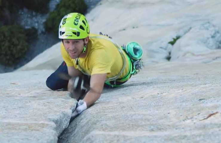 Film about the speed inspection at the nose by Alex Honnold and Tommy Caldwell