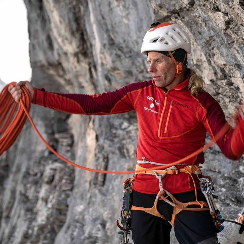 A Robert Jasper le encanta escalar sin ayuda. (Imagen Nicolas Hojac)