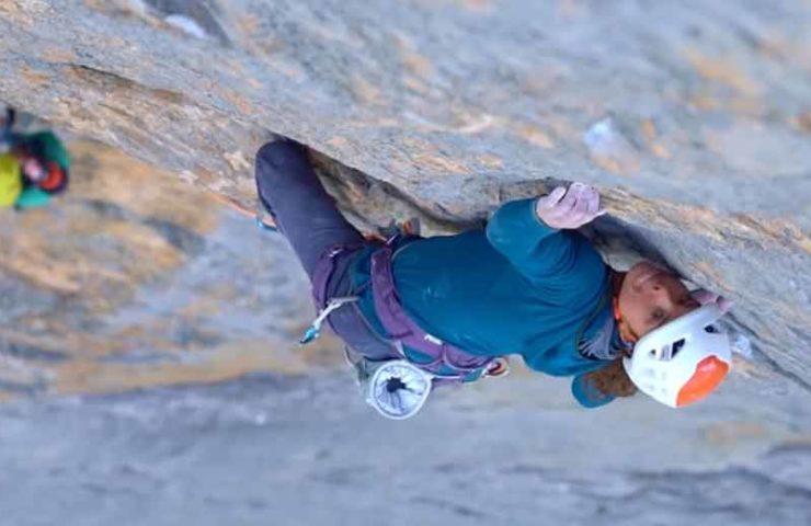 Roger Schäli, Nina Caprez und Sean Villanueva eröffnen die schwerste Kletterroute in der Eigernordwand: Merci la Vie