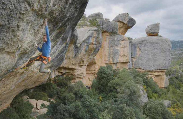 Jakob Schubert holt sich die dritte Begehung von Perfecto Mundo (9b+)