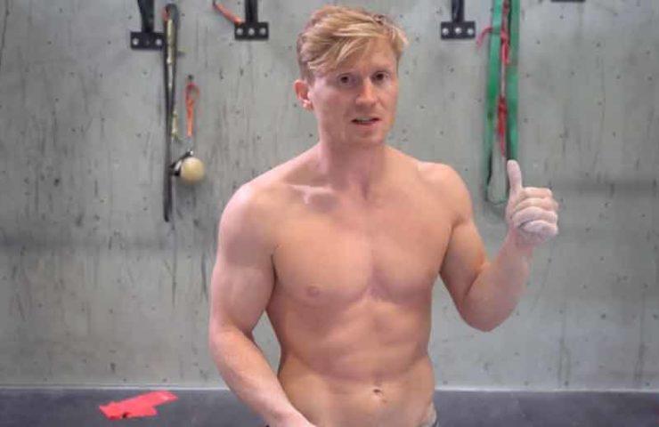 Macht 50 einarmige Klimmzüge in einer Trainingssession: Magnus Midtbo