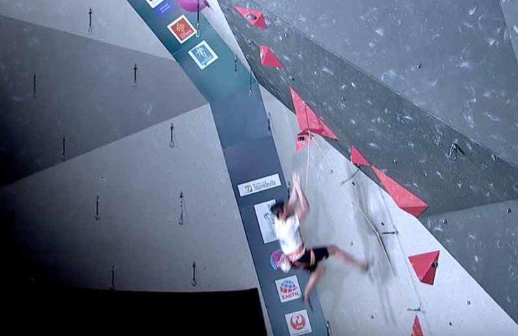 Qualifikation Toulouse: Abgebrochenes Volumen und Ondra mit Olympia-Ticket