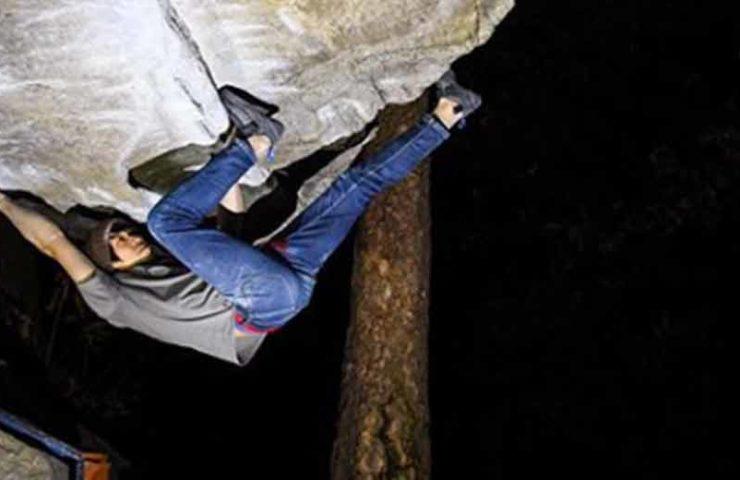 Ryuichi Murai klettert Off The Wagon (8b+) im nassen Zustand - und mehr