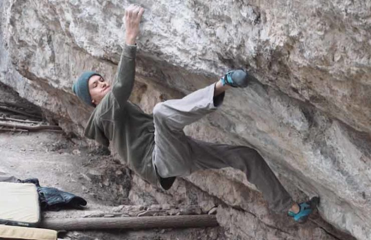 Tom Lindinger bouldert erstmals 8c: Bokassa's Fridge