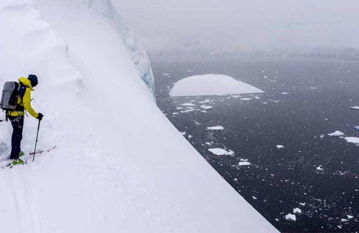 Expedición antártica aventurera: Caro North, Guillaume Martina y Mark van den Weg