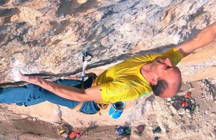 Cédric Lachat klettert American Hustle und Gorilas en la Niebla onsight