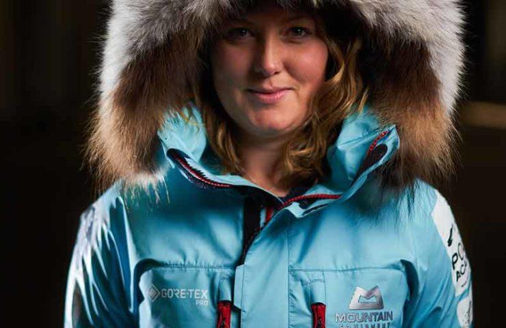 Récord mundial: Mollie Hughes con una expedición de esquí en solitario en la Antártida