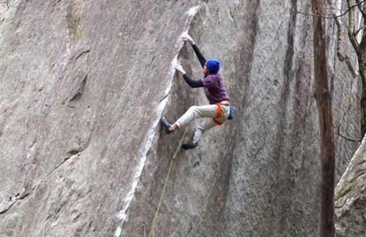 Giuliano Cameroni: Simple Man im Val Bavona erstbegangen