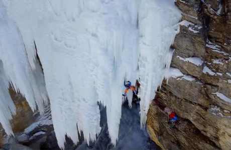 A climbing film of a different kind: Paradice