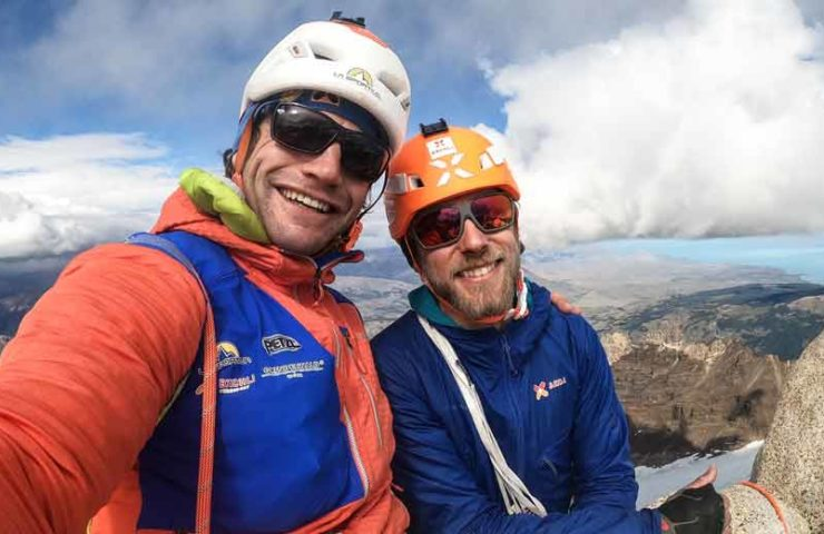 Experience report: Roger Schäli and Jonas Schild in Patagonia