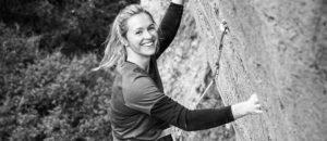 Julia Chanourdie begeht Super Crackinette (9a+) in Saint-Léger du Ventoux