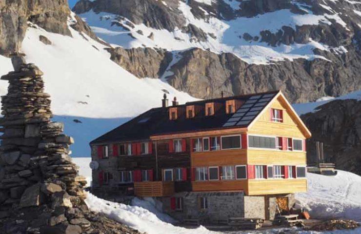 Swiss Alpine Club: año récord para pernoctaciones