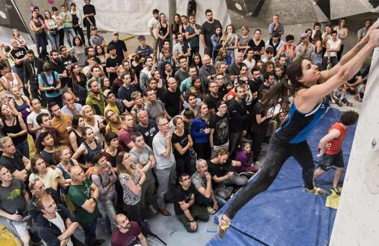 No national sport climbing competitions will take place in Switzerland until the end of July