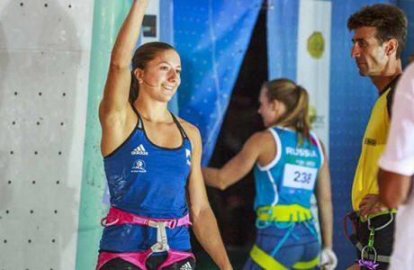 Keine Top-Platzierung und trotzdem für Olympia qualifiziert: Anouck Jaubert und Michael Piccolruaz