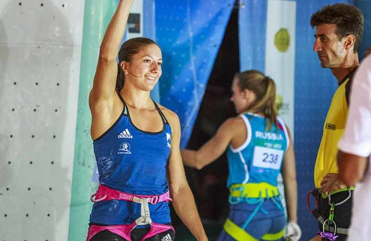No top position and still qualified for the Olympics: Anouck Jaubert and Michael Piccolruaz