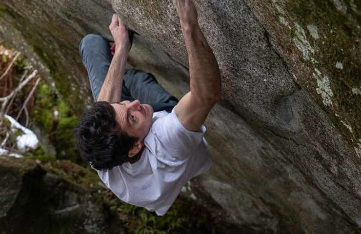 Paul Robinson about the bouldering paradise Ticino and overgraded boulders