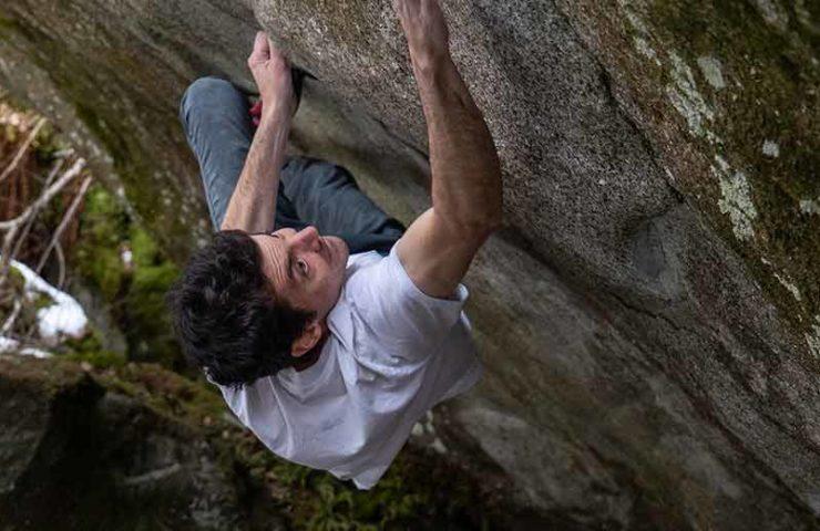 Paul Robinson en el paraíso de rocas de Ticino y líneas sobrevaloradas