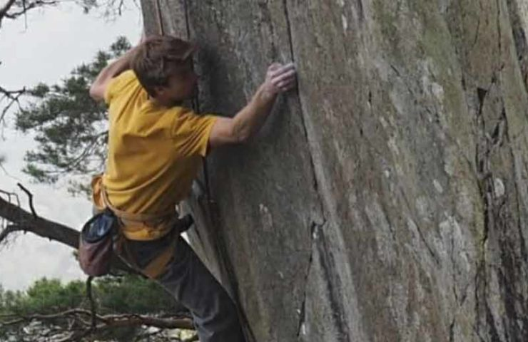 Samuel Ometz gets the second ascent from Buddha / L'Oeuvre