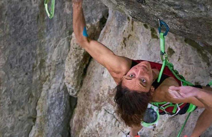 Melissa Le Nevé es la primera mujer en escalar Action Directe (9a)