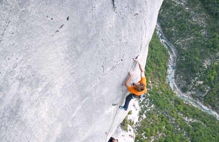 Seb Bouin sobre la historia de la escalada y probablemente la ruta más expuesta del desfiladero de Verdon