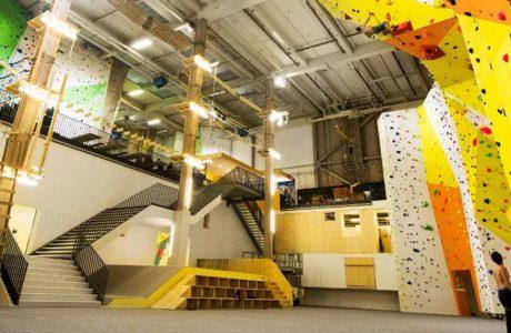 En estas condiciones, se abren salas de escalada suizas