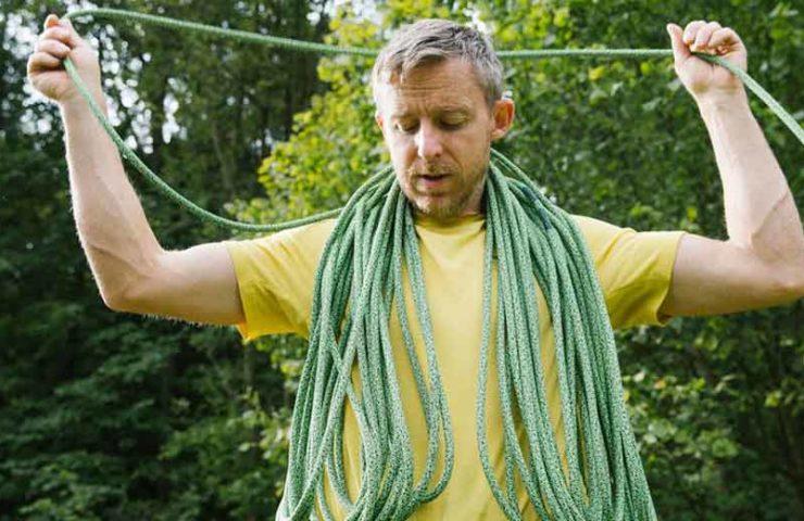 Dieses Seil ist schnittfester als alle anderen: Das Edelrid Swift Protect Pro Dry