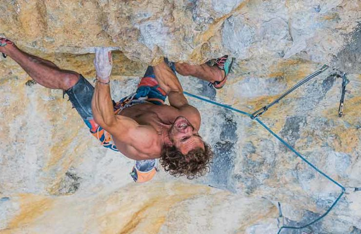 Roger Schäli on the mental pressure in sport climbing