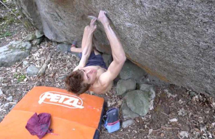 Unerschöpfliches Begehungspotenzial für Boulderlinien in Val Bavona
