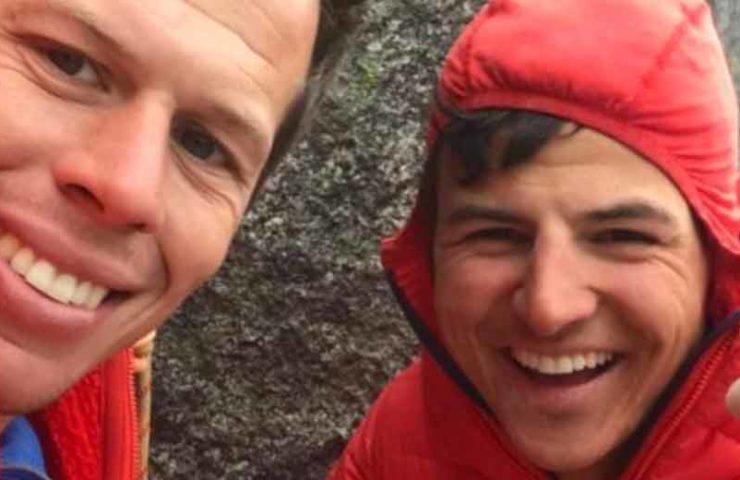 Yannick Glatthard y Niklaus Kohler logran el primer ascenso al punto rojo de El Cap Feelings