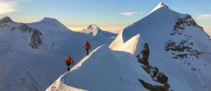 20 Gipfel in einem halben Tag: Nicolas Hojac und Adrian Zurbrügg brechen Rekord