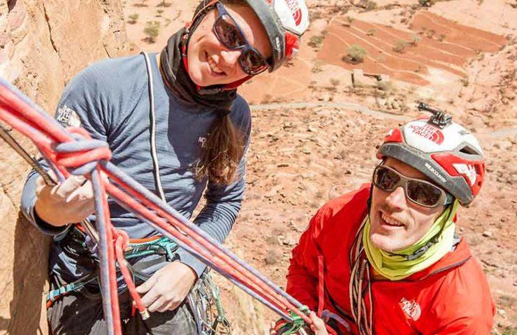 Caroline Ciavaldini y James Pearson hacen su primer ascenso en Etiopía: Excalibur
