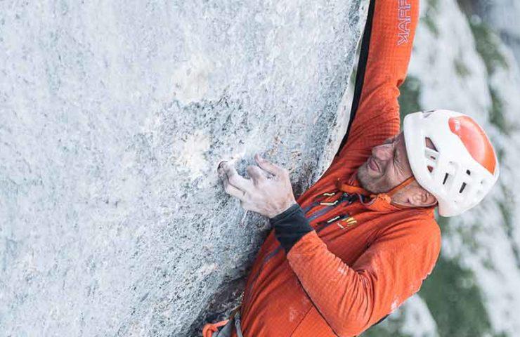 Interview: Cédric Lachat über die schwere alpine Kletterroute Wogü