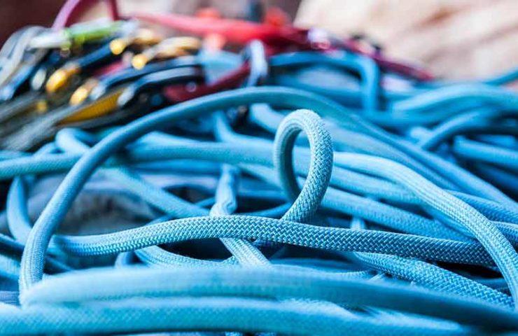 Cuerdas de escalada: tipos y áreas de aplicación.