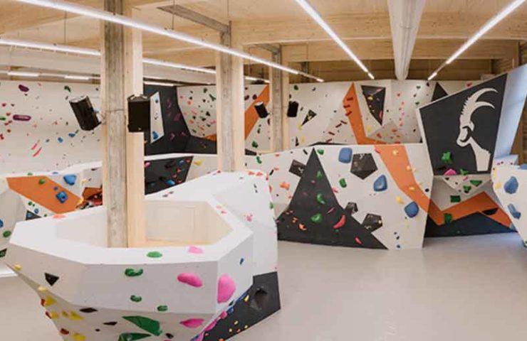 Steinblock Boulderhalle Dornbirn eröffnet