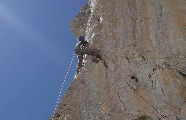 New multi-pitch route in the Sanetsch area: Utopia