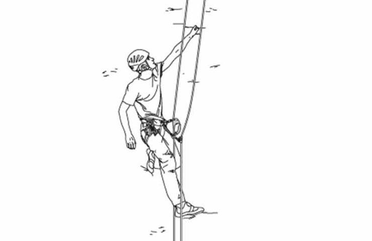 Escalada en solitario con cuerda: así se escala sin un compañero de seguridad