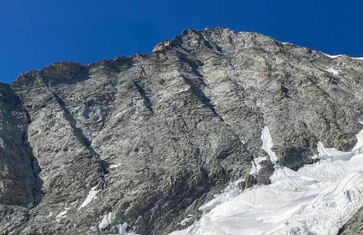 Fatal mountain accident: two alpinists crashed